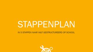 plaatje In 5 stappen naar W&T gestructureerd op school